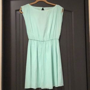 Alice and Olivia mint green dress